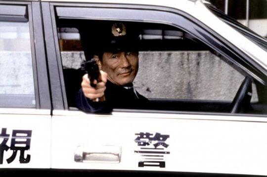 北野武在《花火》中飾演沉默寡言的問題刑警。