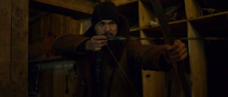 傑森摩莫亞在《極限救援》中的演出,鐵漢與柔情兼備。