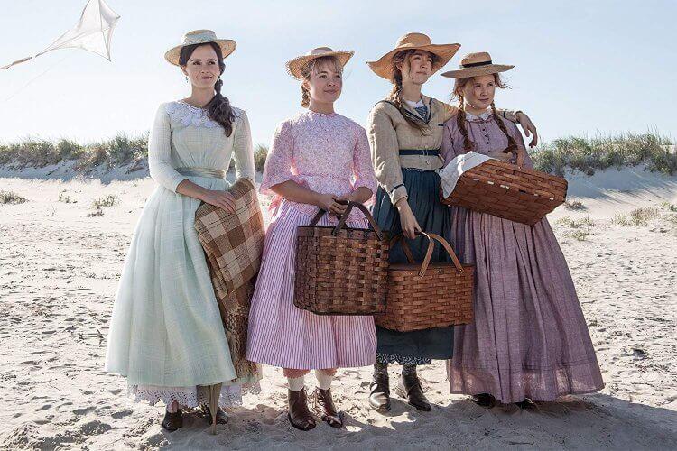 《她們》四姐妹:艾瑪華森、佛洛倫斯佩治、瑟夏羅南、伊麗莎斯坎倫 (Eliza Scanlen) 。