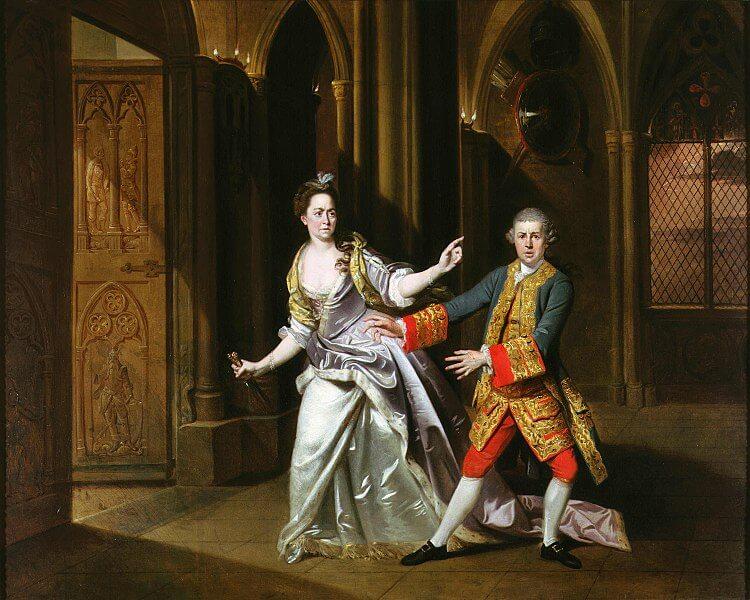 莎士比亞名著《馬克白》。