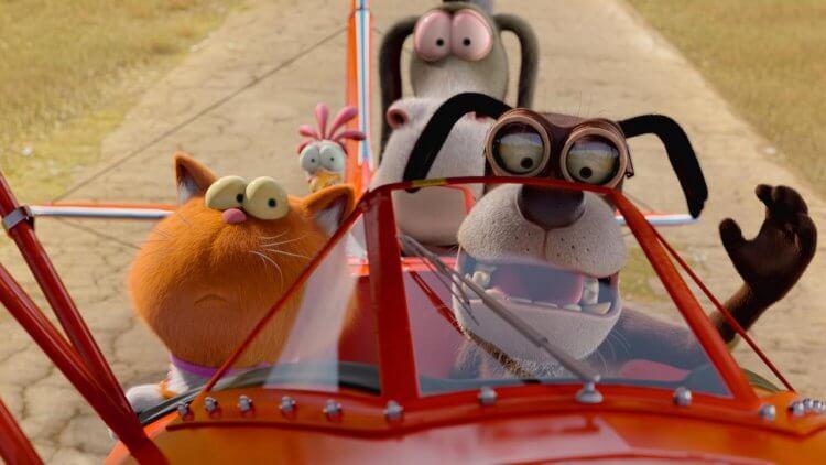 動畫電影《呆萌特務》偵探貓與厭人狗、星夢驢以及自戀雞組團,即將展開追查偷竊真兇的機密任務。