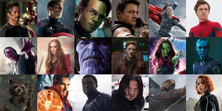曾演出 漫威 超級英雄電影 《 復仇者聯盟 》眾影星,今昔樣貌「 超級比一比 」。