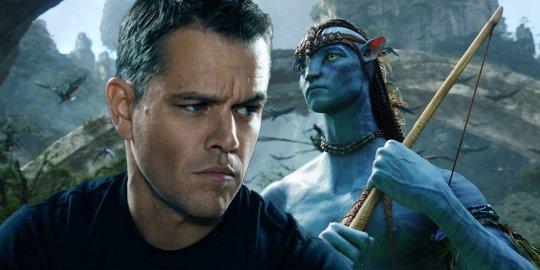 麥特戴蒙 (Matt Damon) 原本有機會演出《阿凡達》