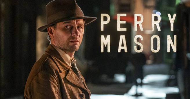 由小勞勃道尼監製、馬修瑞斯主演的《新梅森探案》。