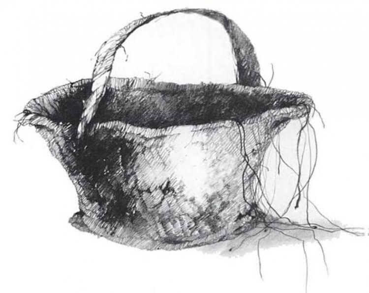 《在黑暗中說的鬼故事》預告片中的書頁裡,出現了「我能幫你提籃子嗎」的標題。