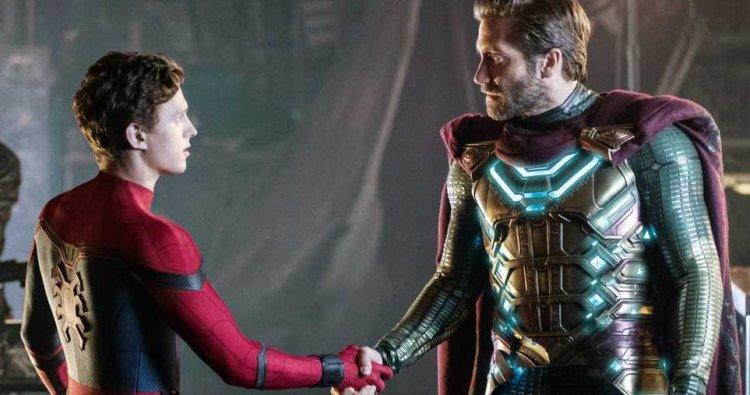《蜘蛛人:離家日》(Spider-Man: Far From Home) 劇照。