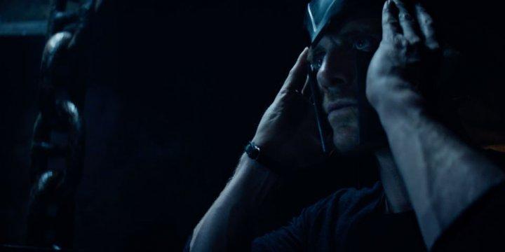 可以看到 萬磁王 在《 黑鳳凰 》預告片段中戴起面具。