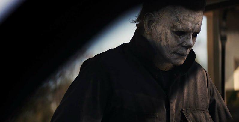 《 月光光新慌慌 》中經典殺人魔 : 麥克邁爾斯 。