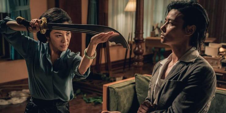 《葉問外傳:張天志》(Master Z: Ip Man Legacy) 裡楊紫瓊展現好身手。