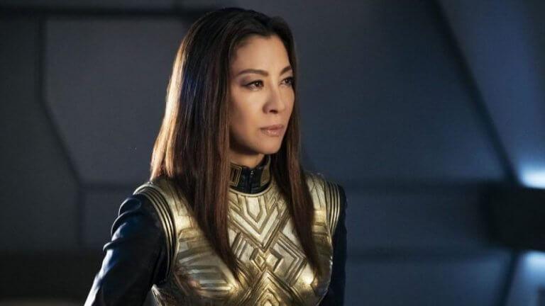 科幻電影《星際爭霸戰:發現號》(Star Trek: Discovery) 中也可見到楊紫瓊的身影。