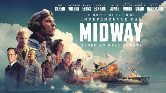 二戰電影《決戰中途島》(Midway) 卡司堅強。