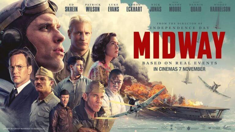 二戰史實改編!5 大看點告訴你《決戰中途島》為何是軍事迷與電影迷不可錯過的電影
