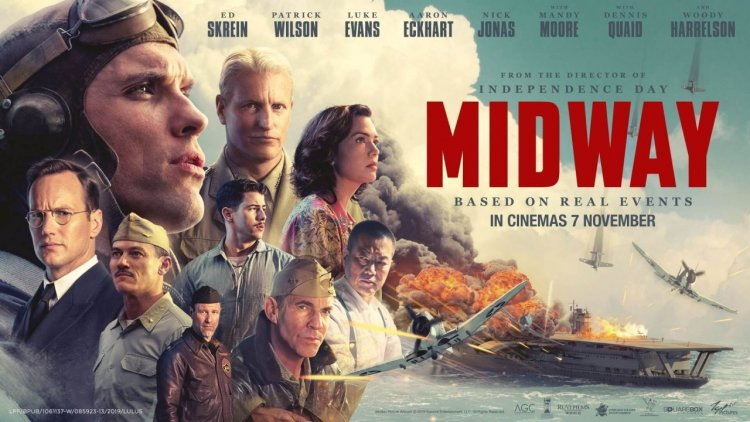二戰史實改編!5 大看點告訴你《決戰中途島》為何是軍事迷與電影迷不可錯過的電影首圖