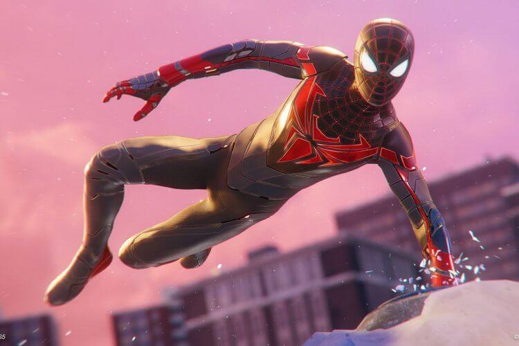 第二代蜘蛛人邁爾斯摩拉斯。