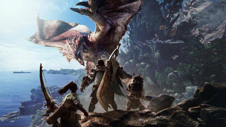 深受電玩迷喜愛的《魔物獵人》系列。