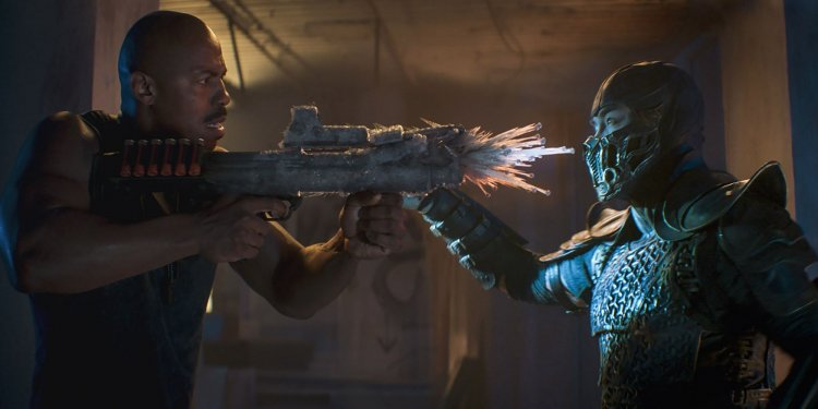 遊戲改編電影《真人快打》。