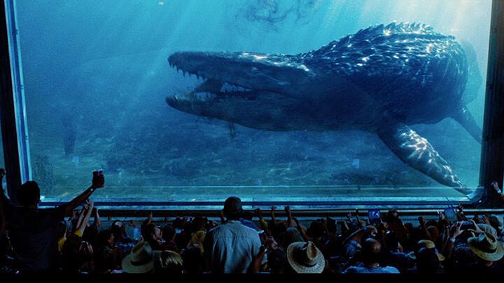 《 侏羅紀世界 》中登場了滄龍等古代生物,《 巨齒鯊 》應該也有機會跟進。