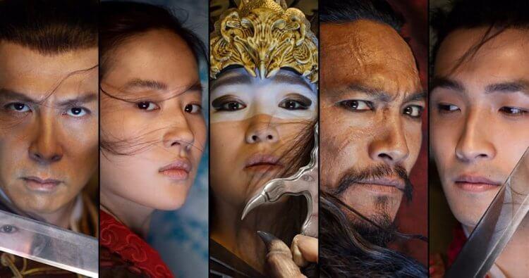 迪士尼製作的真人電影《花木蘭》,集結劉亦菲、鞏俐、甄子丹等亞裔明星。