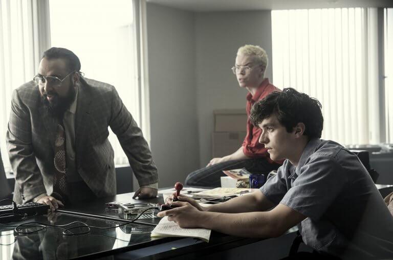 Netflix 互動式原創影集《黑鏡:潘達斯奈基》劇照