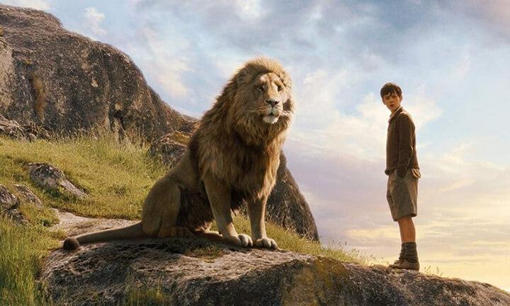 「 納尼亞 」系列 獅子王 : 亞斯藍 (Aslan)。