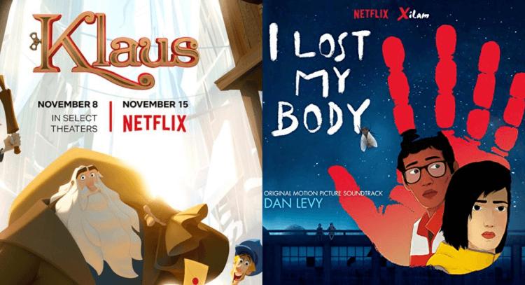 Netflix《克勞斯:聖誕節的秘密》(Klaus)/《隻手探險》(I Lost My Body)