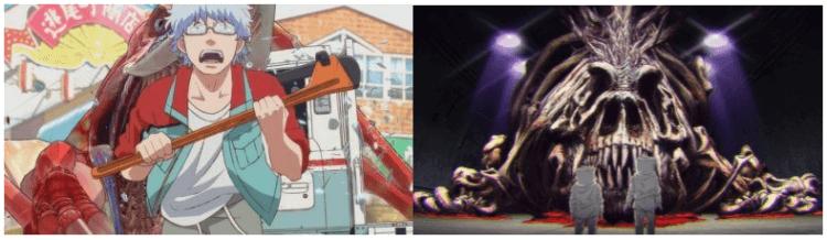 Netflix《哥吉拉:奇異點》動畫影集劇照。