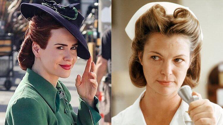 莎拉保羅森在《飛越杜鵑窩》前傳《拉契特》(Ratched)中 飾演冷血護士長。