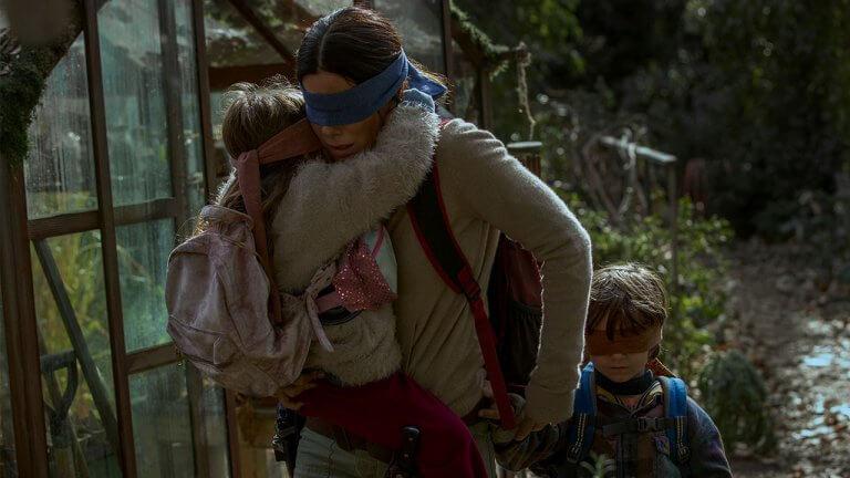 珊卓布拉克 Netflix 年度鉅作《蒙上你的眼 Bird Box》全球熱映,這股驚悚無所「視」從──