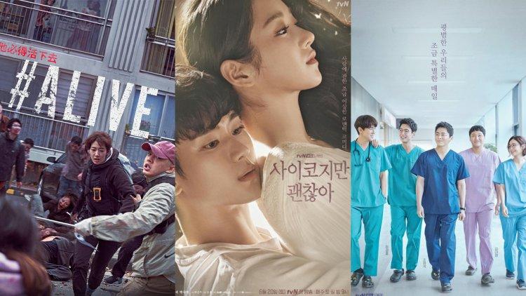 這些韓劇全球超夯!Netflix年終盤點,亞洲地區《機智醫生生活》、《雖然是精神病但沒關係》表現亮眼,《#ALIVE》風靡全球首圖