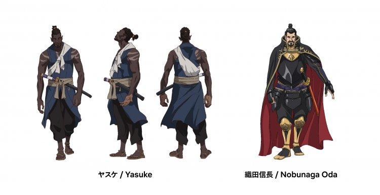 Netflix 動畫影集《Yasuke》描述織田信長身邊黑人武士的軼聞故事。