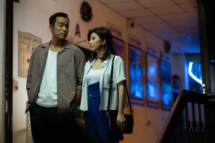 Netflix 影集《罪夢者》中,張孝全與賈靜雯飾演一對情人。