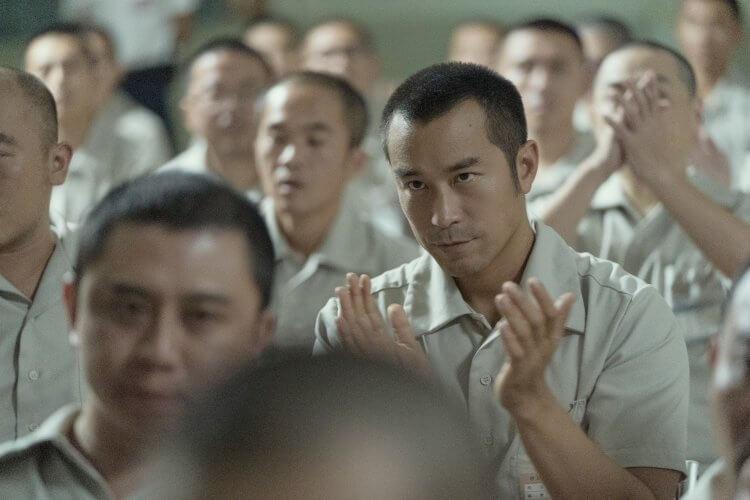 《罪夢者》中,張孝全所飾演的男主角因涉嫌一場重大的綁票案,被捕入獄,成為了死刑犯。