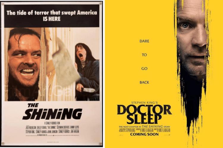(左)鬼店與(右)安眠醫生。