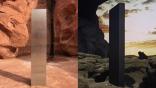 外星人的問候?美國猶他州出現的神秘「金屬柱體」, 神似《2001:太空漫遊》黑色石板!