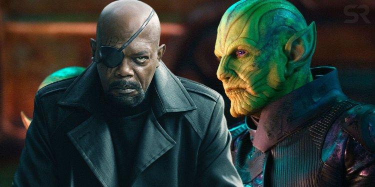 在《驚奇隊長》相遇的尼克福瑞 (Nick Fury) 與 塔洛斯 (Talos) 到了《蜘蛛人:離家日》的互動,又將為 MCU 今後發展如何鋪路?