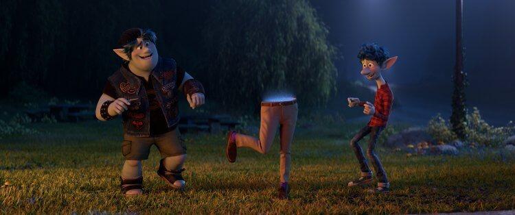 皮克斯動畫電影《1/2 的魔法》劇照。