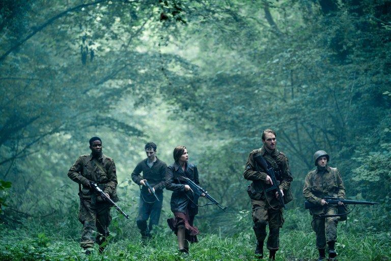 《大君主行動》結合二戰及怪獸物的元素,創意的搭配令人耳目一新