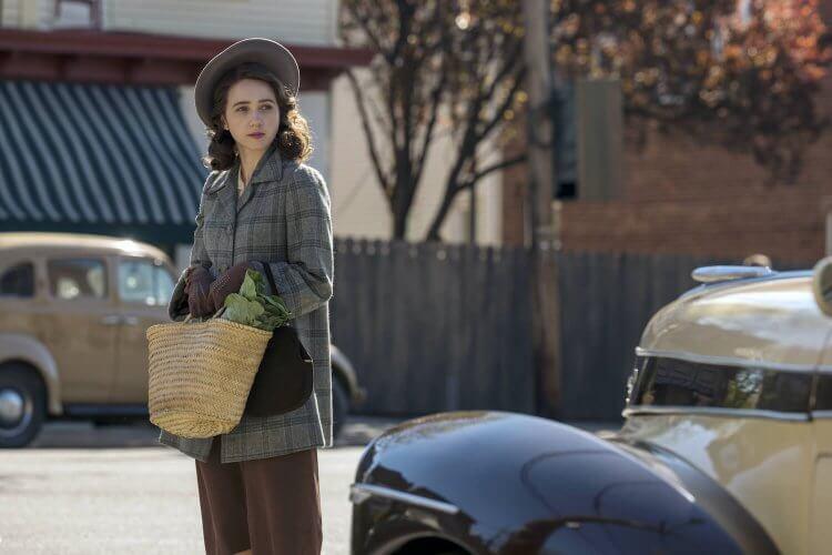 HBO 美劇影集《美國外史》劇照,改編自小說的豐富故事,劇情講述如果二戰後的美國走向法西斯主義的社會情況。