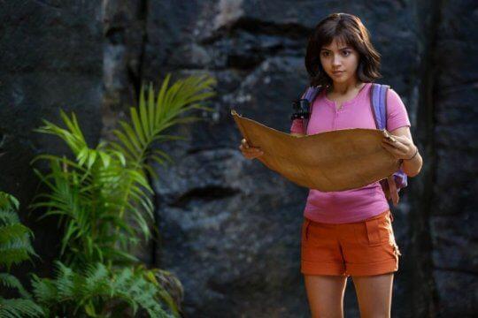 《朵拉與失落的黃金城》(Dora and the Lost City of Gold) 劇照。