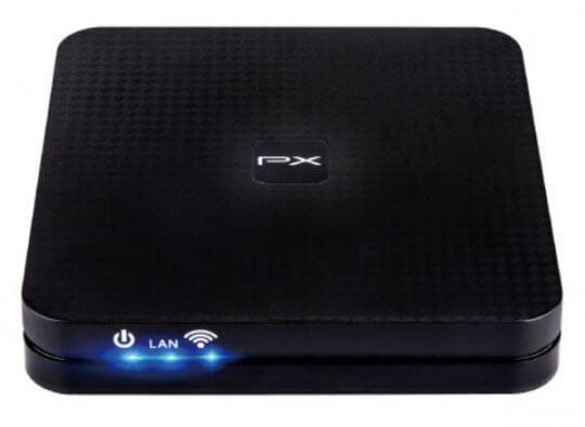 智慧電視盒 PX 大通 OTT-200。