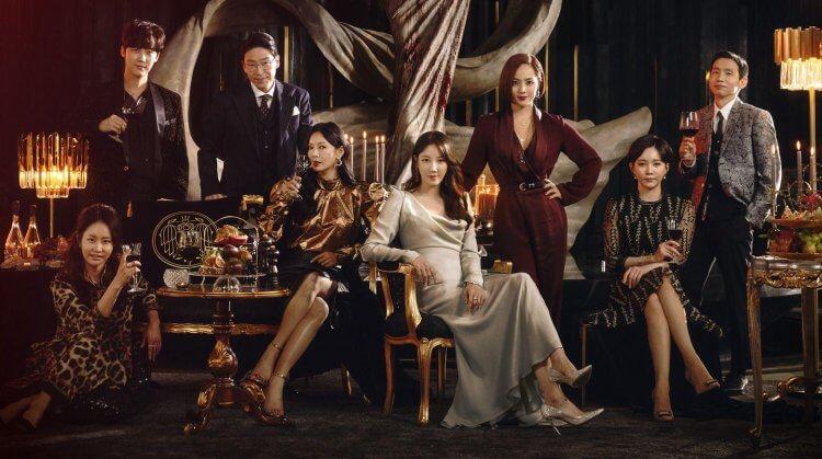 2021 年韓劇《Penthouse 第二季》。