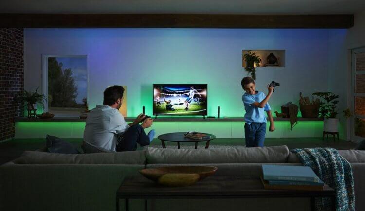 Philips Hue 2020 家庭娛樂系列。
