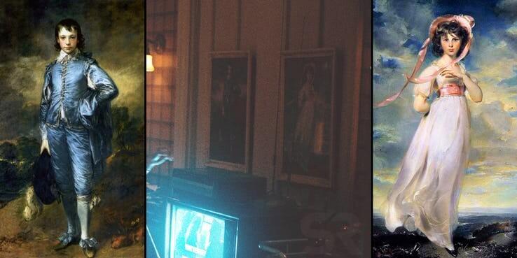 《小丑》(Joker) 預告劇照中的名畫「憂鬱男孩」「紅粉佳人」,也有他隱藏的含意。