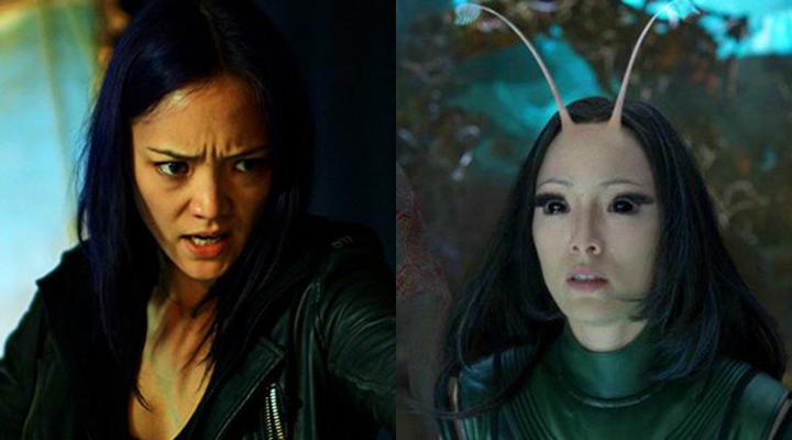 左為她在《 駭客遊戲 》的造型。
