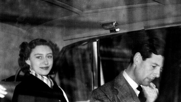 瑪格麗特公主與彼得湯森。