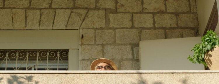 電影《導演先生的完美假期》中的導演兼主演:伊利亞蘇萊曼。