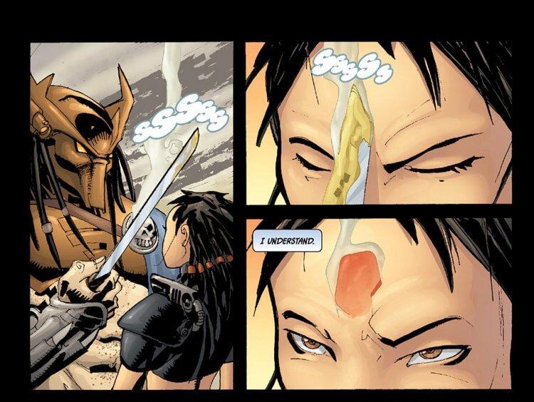 《終極戰士》漫畫。