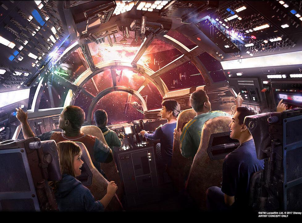「星際大戰:銀河邊緣」(Star Wars: Galaxy's Edge) 2019 年現身迪士尼樂園