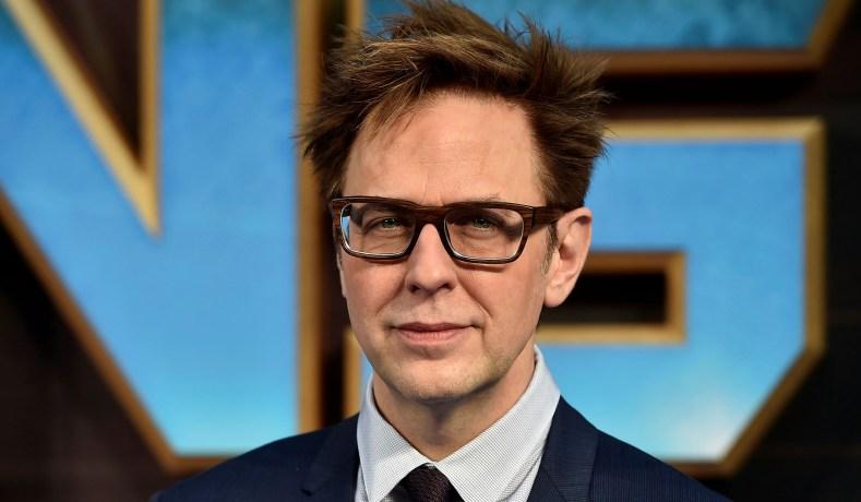 在《 星際異攻隊3 》製作期間遭撤換的系列導演 : 詹姆斯岡恩 。