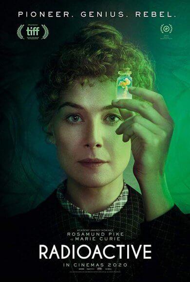 《愛的放射論》(Radioactive) 最新預告上線,正片將首映於多倫多影展